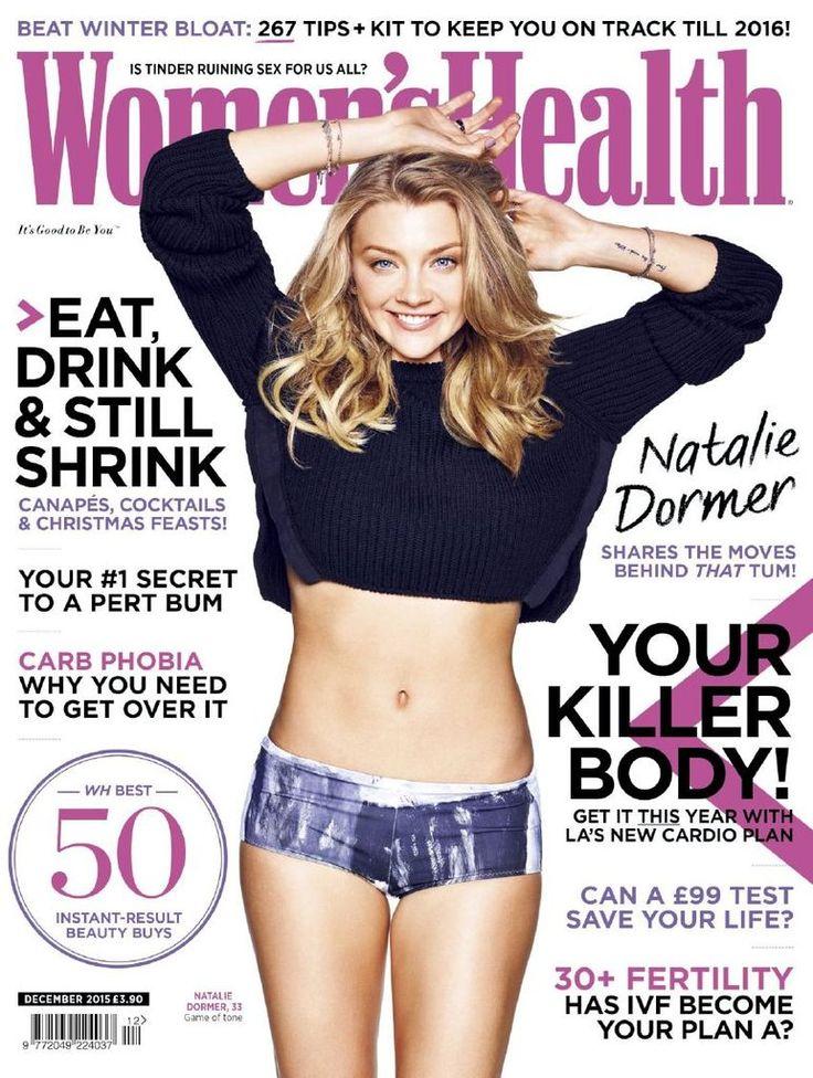 Natalie Dormer – Women's Health Magazine, December 2015 : Global Celebrtities (F) FunFunky.com