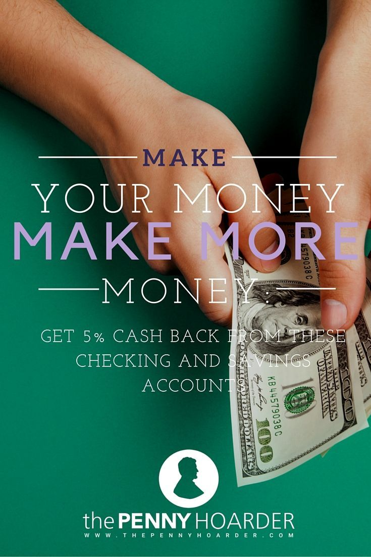 You might think you're doing well if you make even 1% interest on your savings account. But, what if you could turn your regular checking and savings accounts into high-interest accounts? - The Penny Hoarder http://www.thepennyhoarder.com/checking-and-savings-high-interest-accounts/