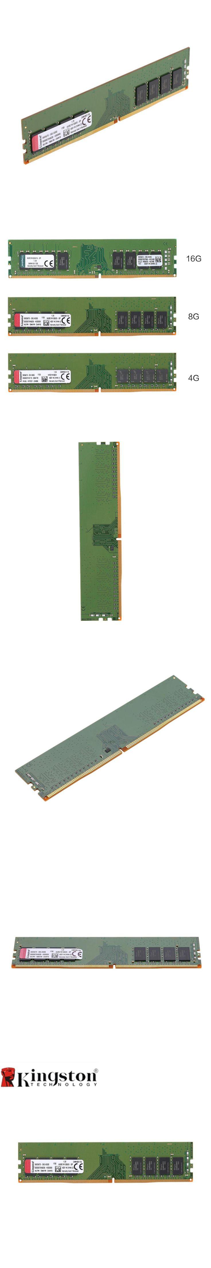 Kingston Memoria RAM DDR4 16GB 8GB 4GB 2133MHz CL15 1.2V 1Rx8 288-Pi Intel Memory SODIMM Ram For Desktop Memory Stick PC4-2133