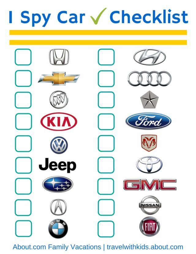 17 Best Images About Free Car amp Travel Printables On