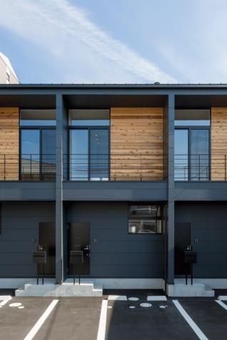 南草津の長屋 - Works - 滋賀県 建築設計事務所 建築家 ALTS DESIGN OFFICE (アルツ デザイン オフィス)