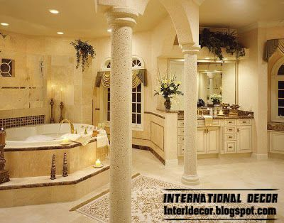Top 10 royal bathroom designs with luxurious accessories and furniture