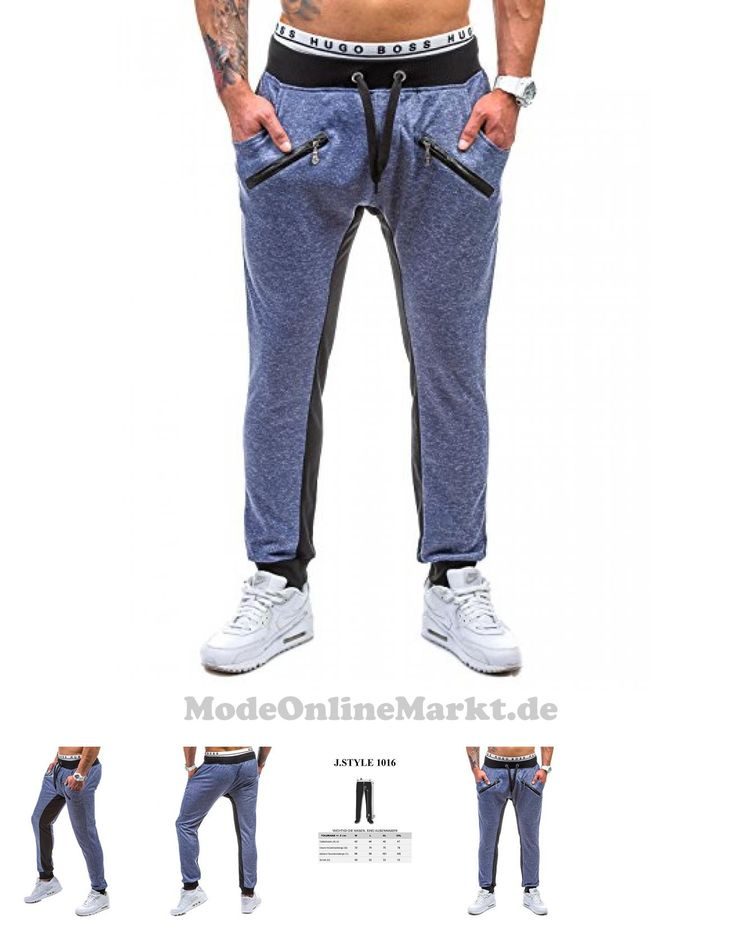 | #BOLF #Herrenhose #Sporthose #Fitnesshose #J.STYLE #1016 #Bleu #XXL #[6F6]