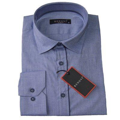 Renovi erkek pamuklu fit kesim açık mavi gömlek modellerini en ucuz fiyatlarıyla kapıda ödeme ve taksit ile Outlet Çarşım'dan satın al.