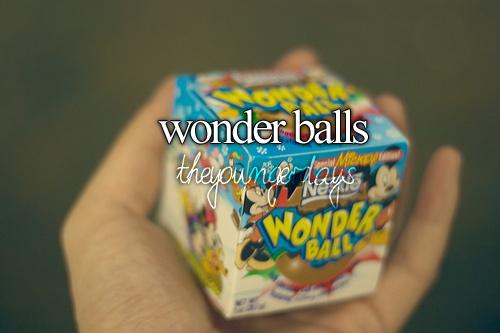 Wonder Balls so old