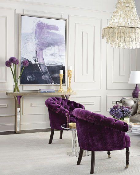 Art- purple/plums