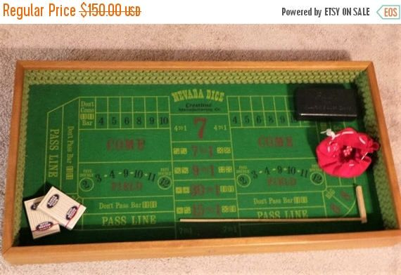 On sale Vintage Nevada Dice Gambling Game in Vintage Box