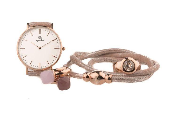 Qudo Inspiration in Rose Gold #qudo #eterni #watch #firenze #famosa