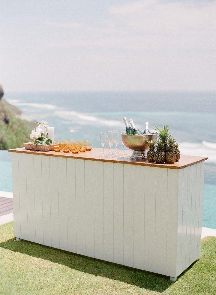 Beachside Bali Wedding Inspiration at Semara Luxury Villa Resorts - MODwedding