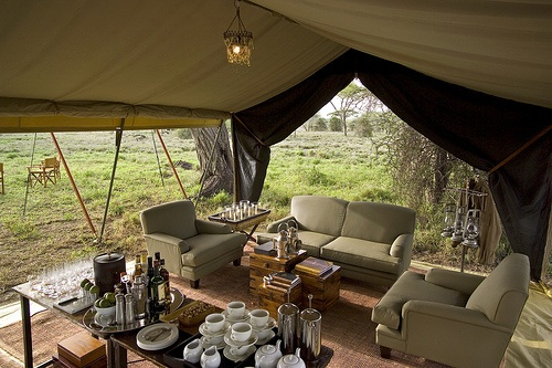 Serengeti Under Canvas. Quote & Book: http://www.south-african-hotels.com/