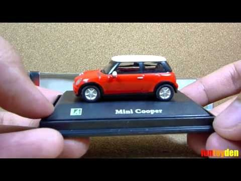 Mini Cooper Red - Cararama Die-cast Car Collection Unboxing