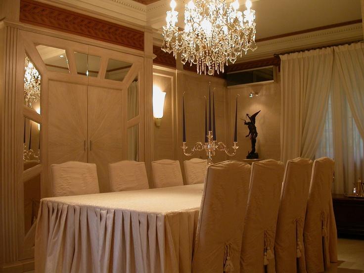 Fine custom-made dining room