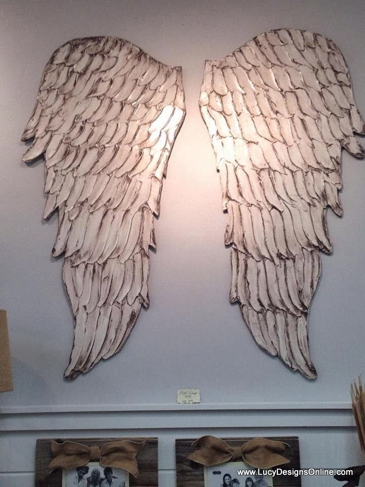 The 25 best wooden angel wings ideas on pinterest angel for Angel wings wall decoration