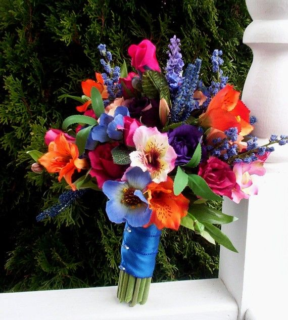 jewel tone bridal bouquet - Google Search