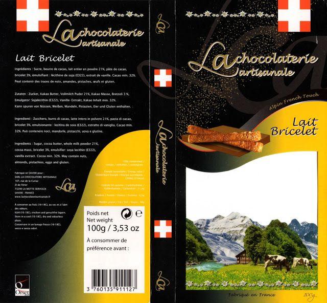 tablette de chocolat lait gourmand la chocolaterie artisanale lait bricelet