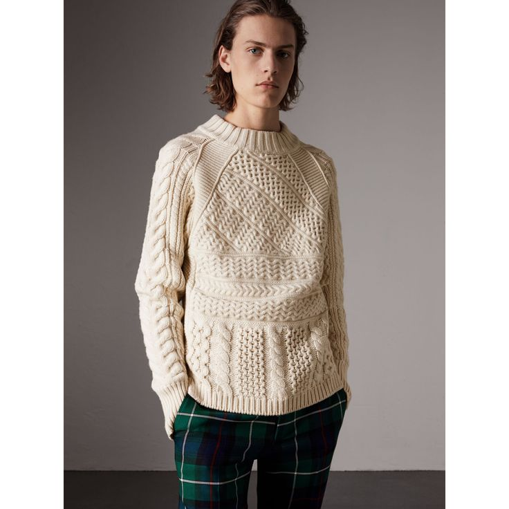 https://us.burberry.com/wool-cashmere-aran-sweater-p40566301