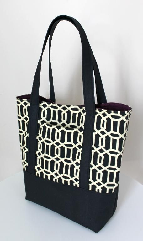 This pattern includes step-by-step directions how to sew a fully lined, canvas…