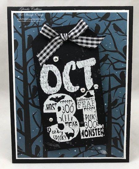 Fun Stampers Journey Halloween Silhouette Bundle with Glenda Calkins www.thestampcamp.com