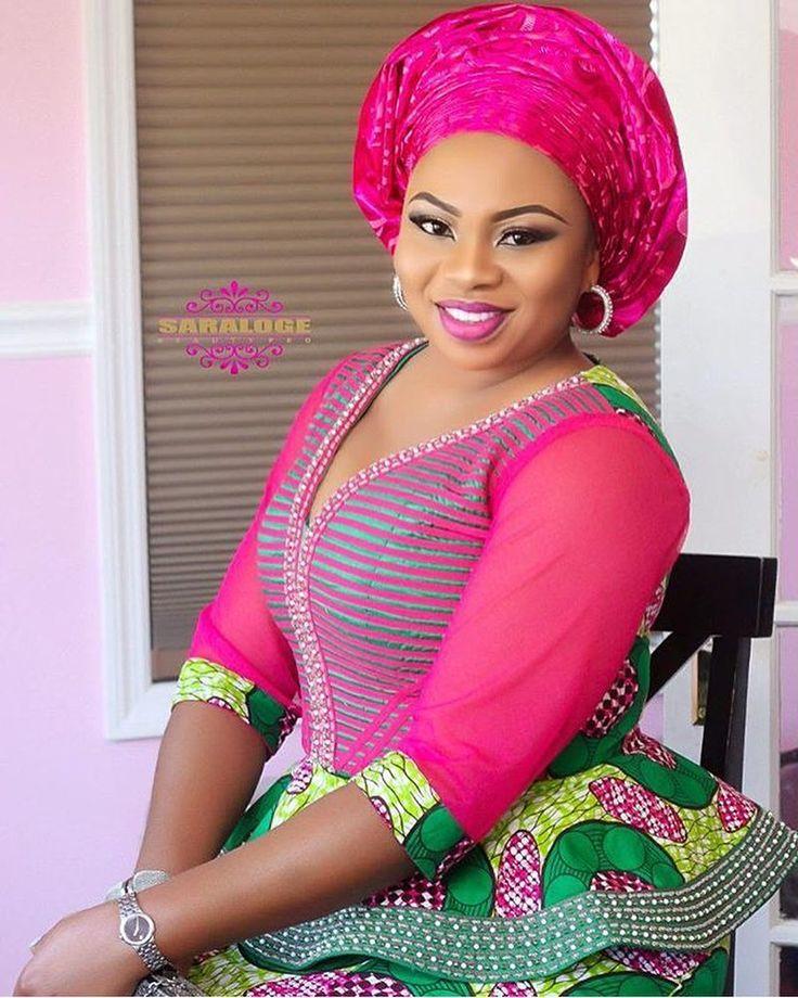 #asoebi #asoebispecial #speciallovers #makeup #wedding #summer17 #Nigeria @saralogebeautypro