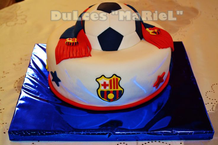 TORTAS EQUIPOS DE FUTBOL on Pinterest | Barcelona, Futbol and Sports