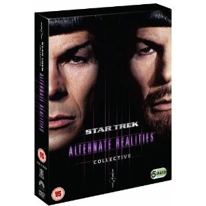 #StarTrek: Alternate Realities Fan Collective DVD - I love Trek but there's far too may episodes to watch them all again, so collections like this are the way to go. £15.97: Alternative Reality, Collection Dvd, Reality Fans, Fans Collection