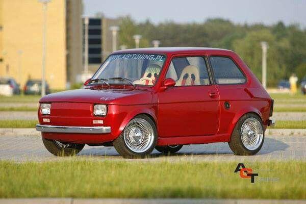 classic car - fiat 126p