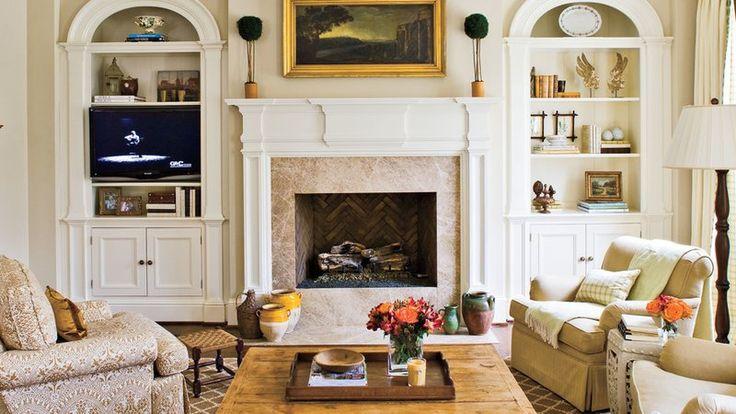 Balanced Fireplace