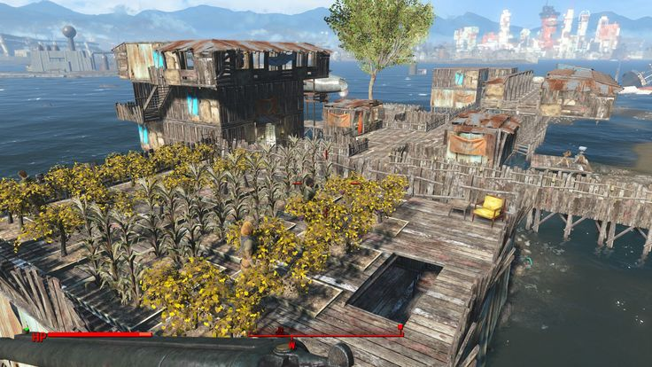 fallout 4 settlement garden - Google Search