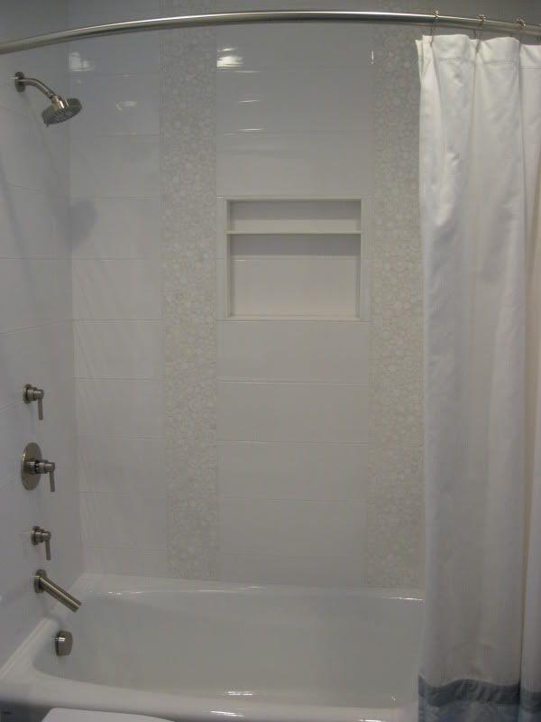 Wonderful Shiny White Bathroom Tiles Eyagcicom - 6 x 18 white subway tile