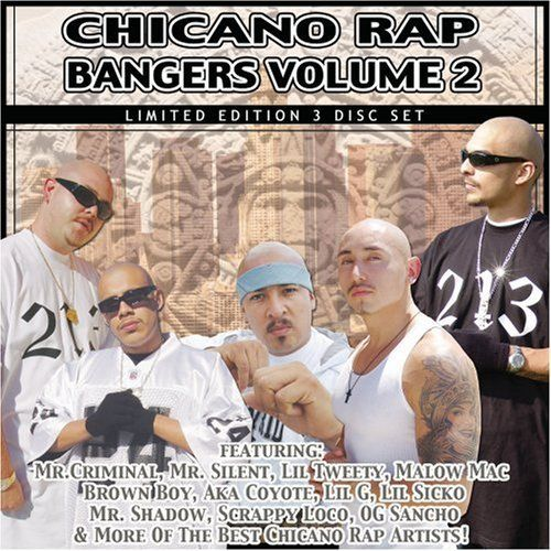 Various - Chicano Rap Bangers Volume 2
