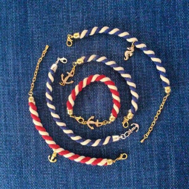 Braccialetti estivi ..marinaio style
