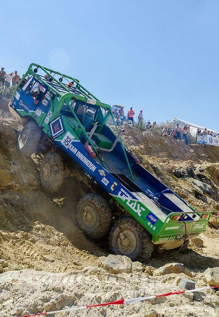 Beast on Wheels, Tatra 8x8, Truck Trials JA