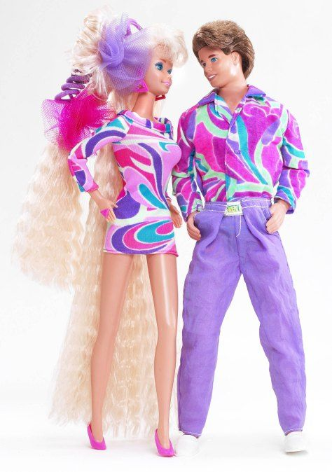 1990s Barbie and Ken