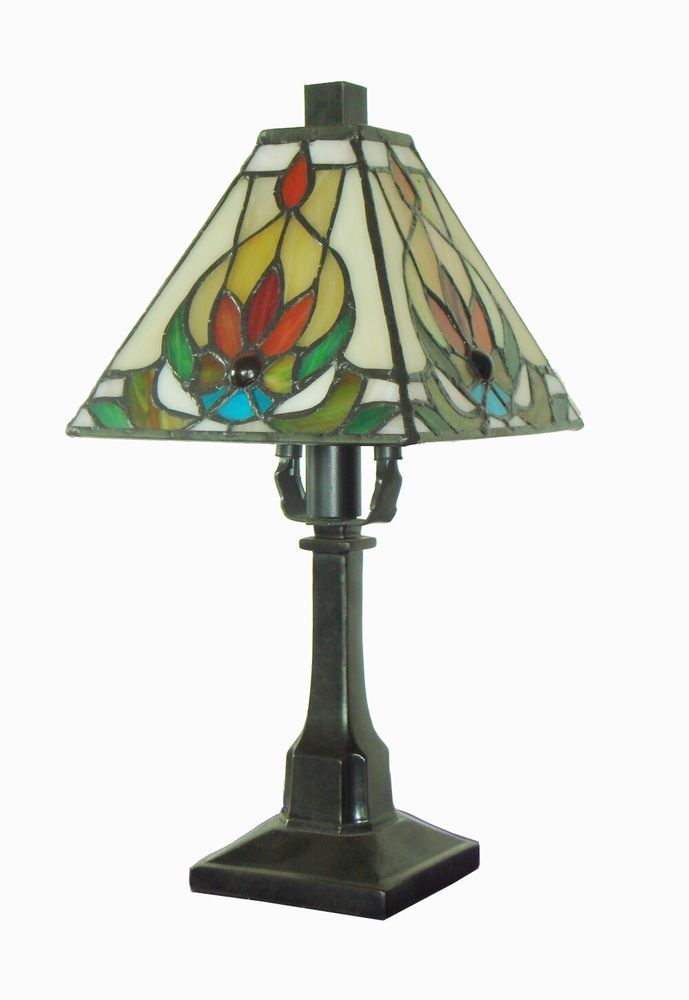 fine art lighting tiffany mini table lamp - Lamp Shades For Table Lamps