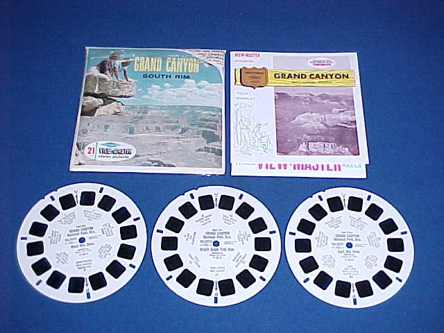 GRAND CANYON SOUTH RIM VIEW-MASTER PACK