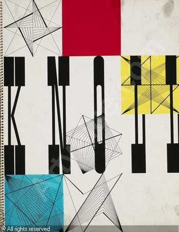 Herbert Matter (Switzerland), Knoll catalog/ad campaign, 1948