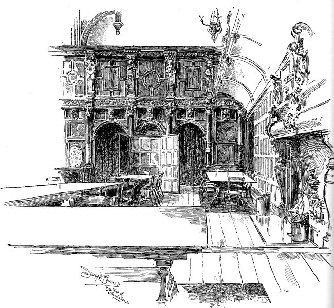 Dining Hall in the Charterhouse