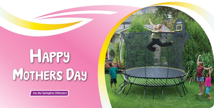 The safest trampoline - I want it!
