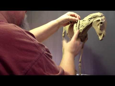 Sculpting Tutorial - Creating A Horse For Geronimo - Some Days the Magic Don't Work