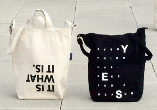 The message. See more great tote bag designs here: http://www.creativebloq.com/design/tote-bags-912700