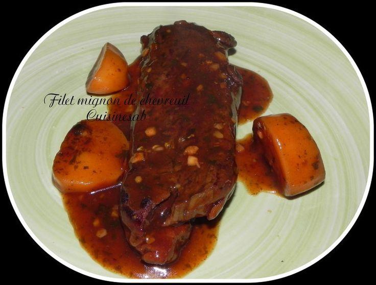 Les 25 meilleures id es concernant filet de chevreuil sur - Cuisiner un filet mignon de porc en cocotte ...