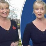 BBC weather: Carol Kirkwood warns of unsettled conditions as she wows in navy dress  ||   http://www.asit.com.es/2017/11/09/bbc-weather-carol-kirkwood-warns-of-unsettled-conditions-as-she-wows-in-navy-dress/?utm_campaign=crowdfire&utm_content=crowdfire&utm_medium=social&utm_source=pinterest