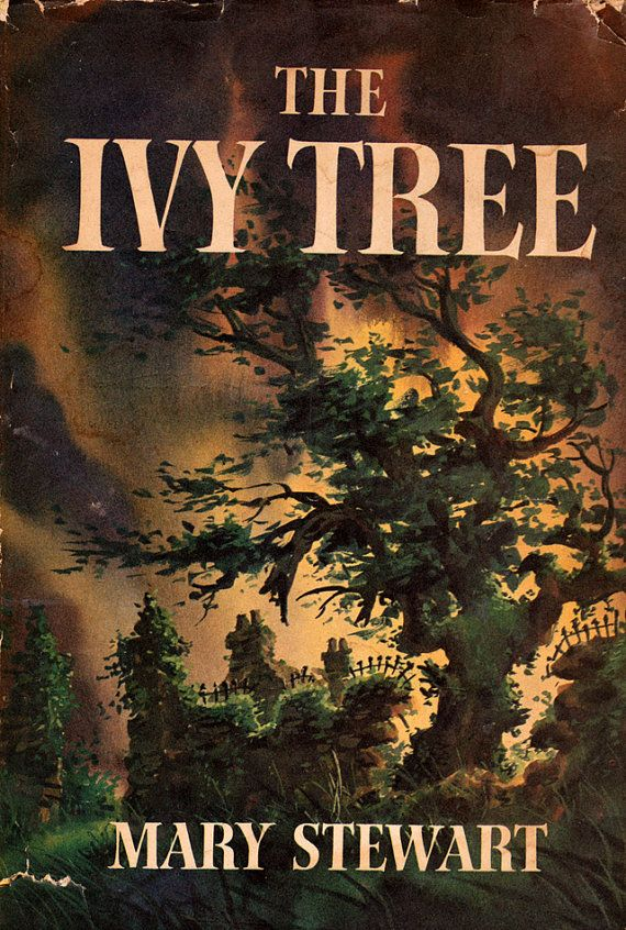 The Ivy Tree by Mary Stewart. Looks like Charles Geer's artwork.
