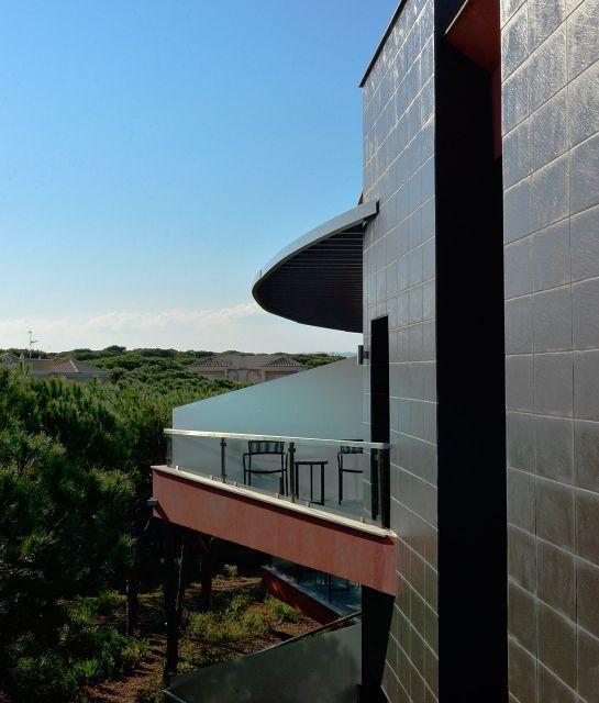 Corner balcony with panorama at Praia Verde Boutique Hotel, Castro Marim, Portugal