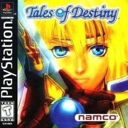 Tales of Destiny, it has talking swords how rad is that
