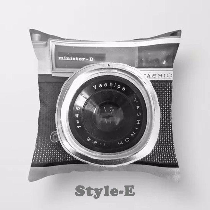 3D Camera/ Leica Cushion Cover/ Pillowcase Creative Decoration