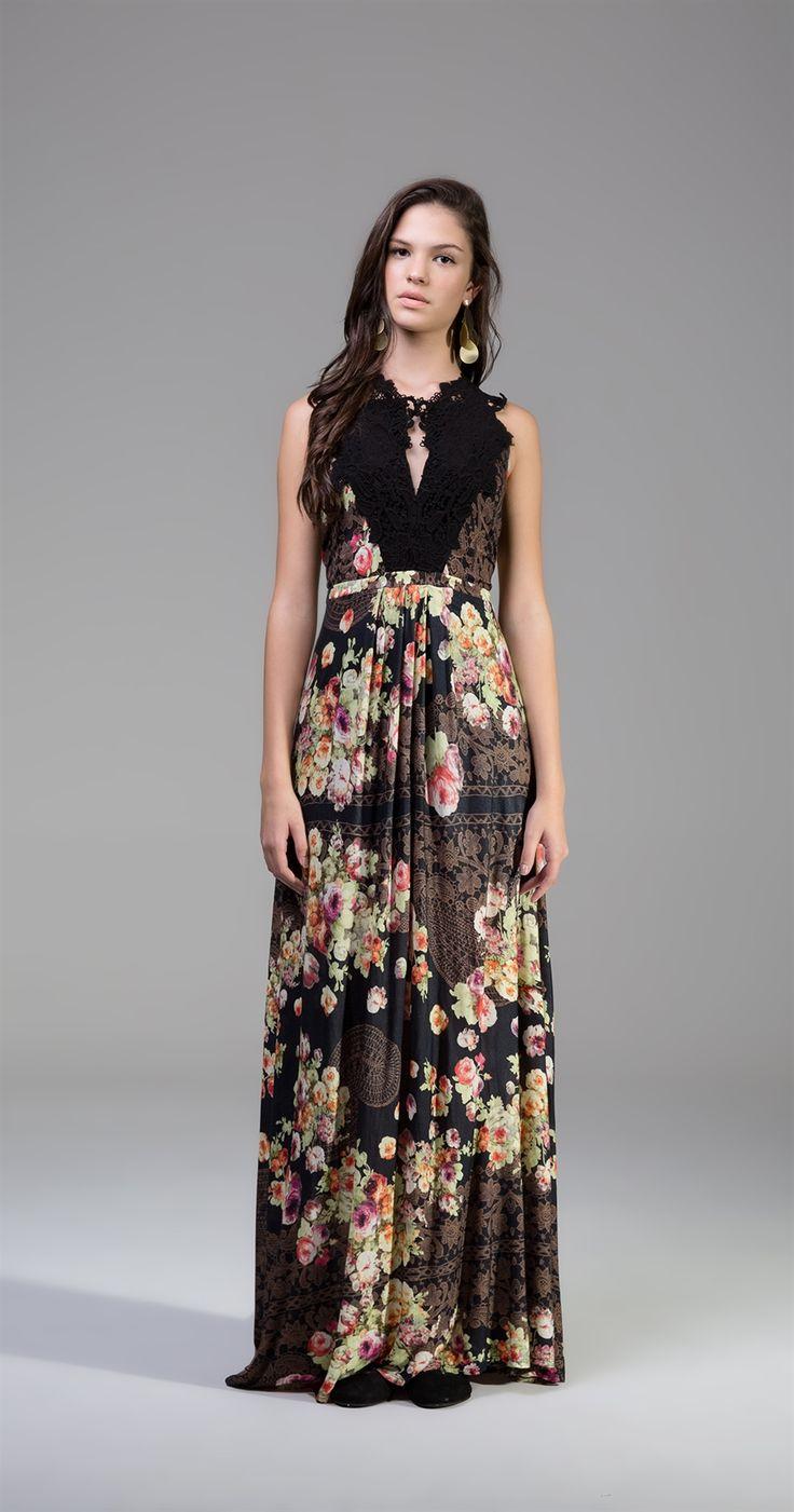Vestido Longo Floral | Vestuário | Antix Store