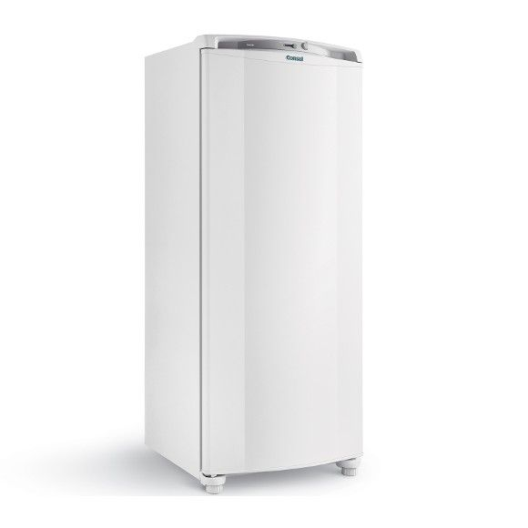 Design e alta capacidadeO Freezer Vertical Consul com 246 litros de capacidade é o que você precisa para armazenar seus alimentos e deixar a sua cozinha ainda mais bonita. Com design moderno, ele tem controle de temperatura externo, gavetas transparentes, além de compartimento de congelamento rápido.Controle de temperatura externoVocê pode regular a temperatura sem precisar abrir a porta do seu Freezer Consul. Desta forma, você economiza energia e preserva seus alimentos por mais tempo…