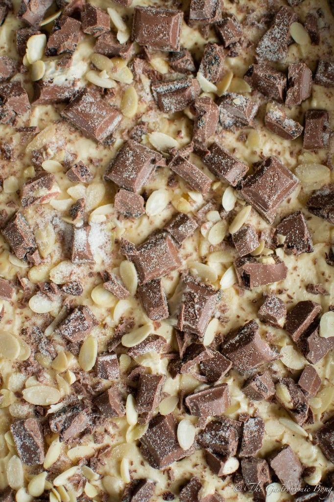 Cadbury's Fruit and Nut Chocolate Chunk Cake Bars | The Gastronomic BONG