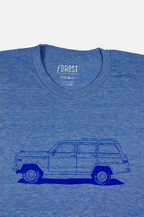 Wagoneer por Forest  http://followtheforest.com/poleras/213-camioneta-ford-1950-por-forest.html